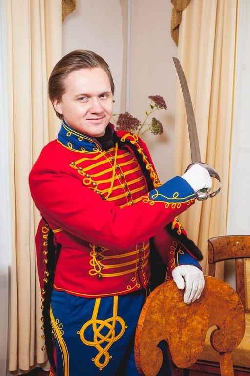 Ведущий бала СПб фото