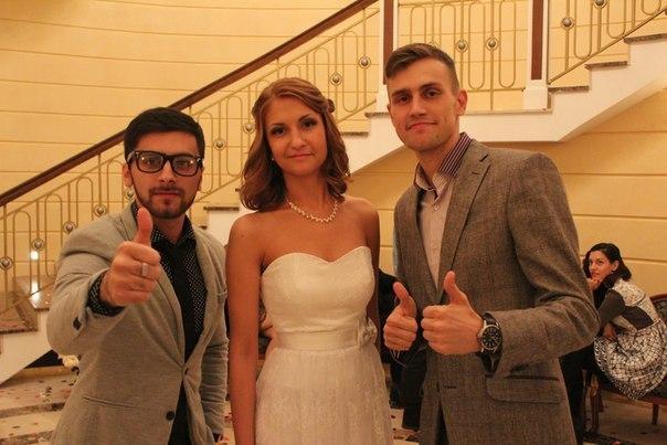 ведущий с невестой фото
